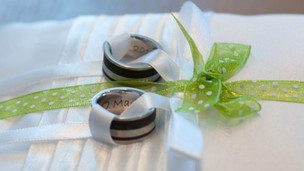 Palladium und Carbon:Nicht für Eheringeverwenden